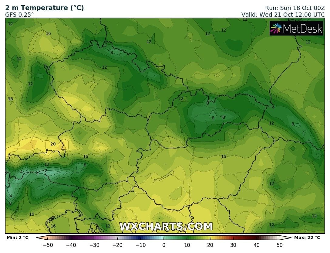 Hosszútávú kilátások: eleinte fagyhat, majd kettősség: hideg, ködös, kontra 20-22 fok, napsütés! (Animációs időjárás előrejelzés) 8