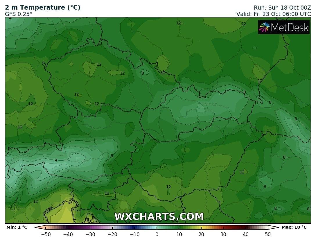 Hosszútávú kilátások: eleinte fagyhat, majd kettősség: hideg, ködös, kontra 20-22 fok, napsütés! (Animációs időjárás előrejelzés) 11