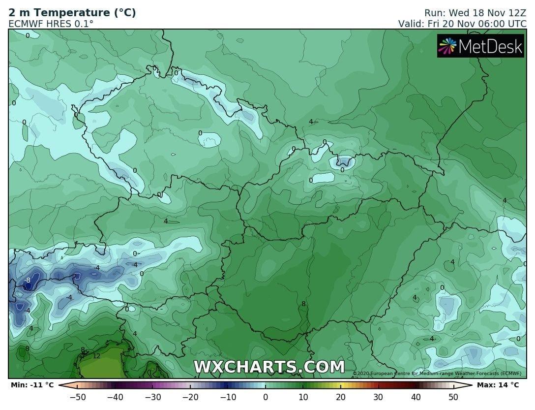 Hétvégén országos fagyok, néhol - -10 fok, hózáporok, hegyekben akár havazás! 2