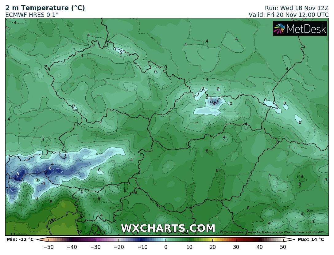 Hétvégén országos fagyok, néhol - -10 fok, hózáporok, hegyekben akár havazás! 3