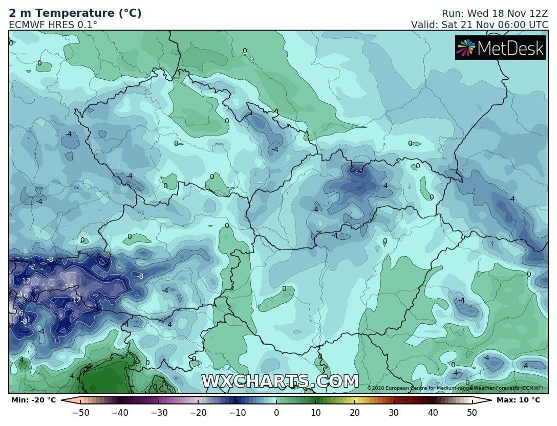 Hétvégén országos fagyok, néhol - -10 fok, hózáporok, hegyekben akár havazás! 4