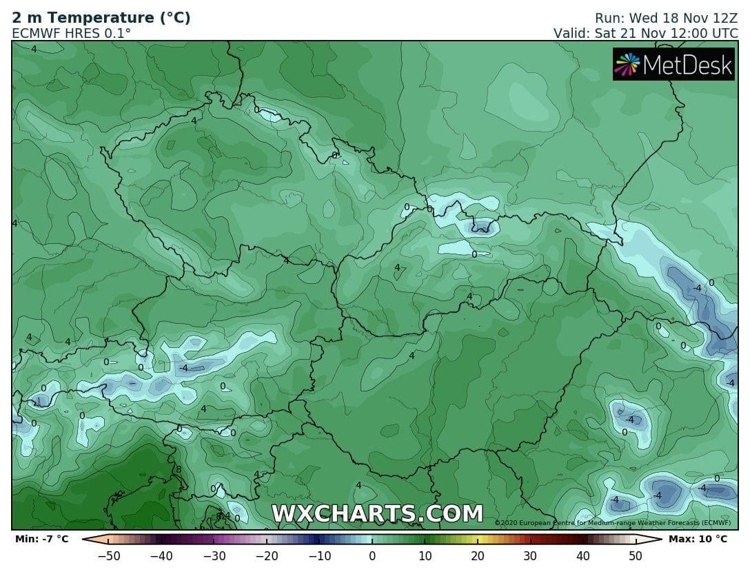 Hétvégén országos fagyok, néhol - -10 fok, hózáporok, hegyekben akár havazás! 5