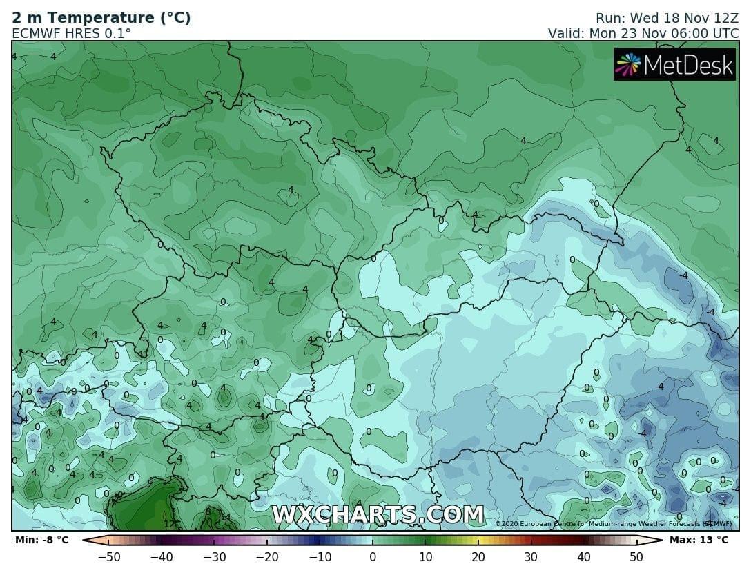 Hétvégén országos fagyok, néhol - -10 fok, hózáporok, hegyekben akár havazás! 8