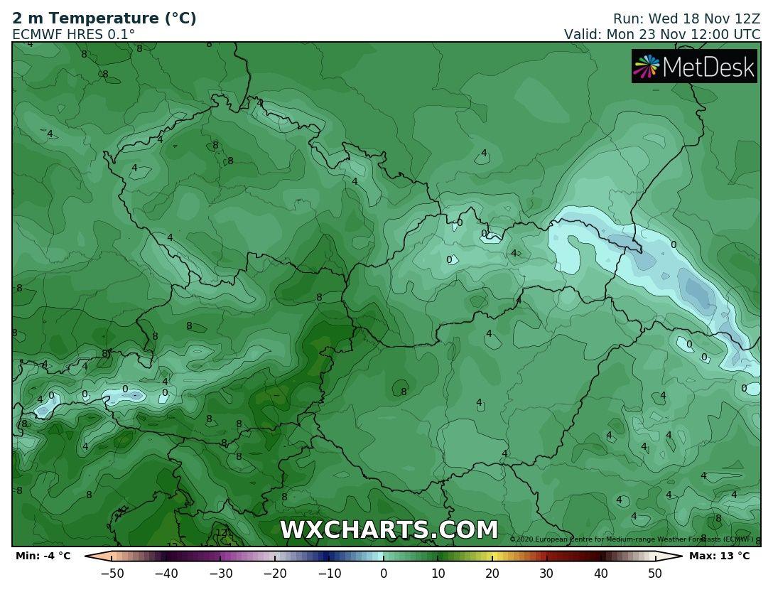 Hétvégén országos fagyok, néhol - -10 fok, hózáporok, hegyekben akár havazás! 9