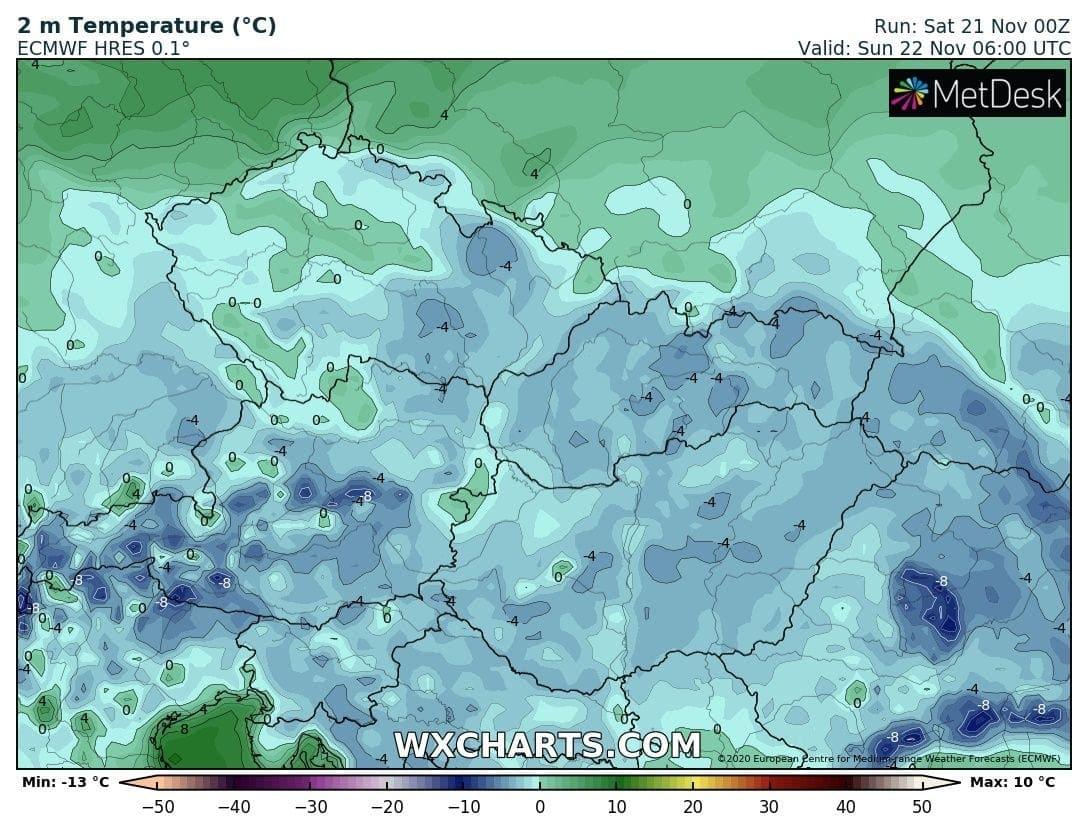 Közel -10 fokos fagy volt a leghidegebb helyen, holnap hidegebb lesz! 2