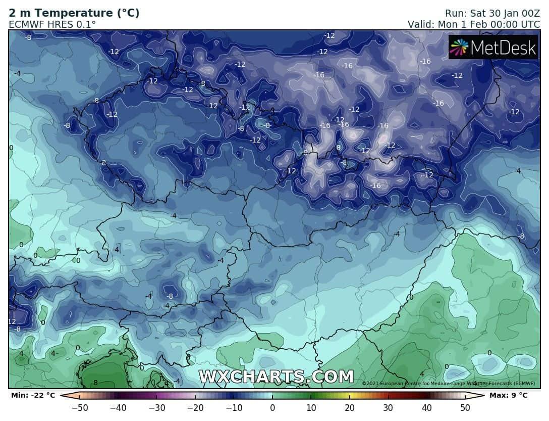 Érkezik a vegyes csapadék: néhol 5-10cm hó hullhat hétfő délig! 2