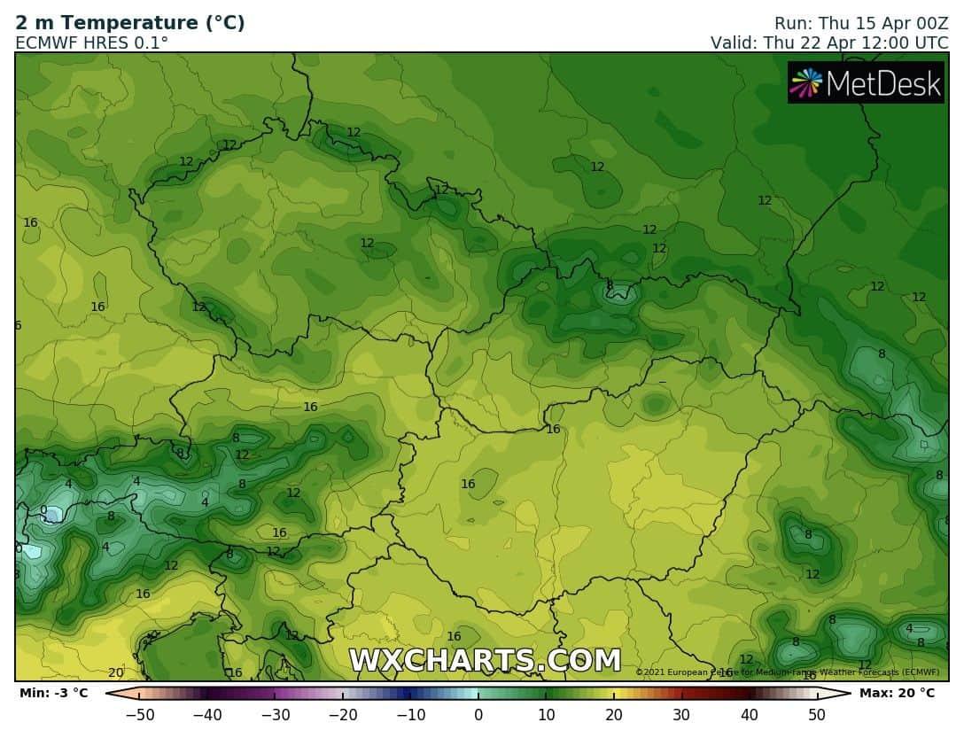 Erőteljes melegedés, a jövő héten már 20 fok is lehet!