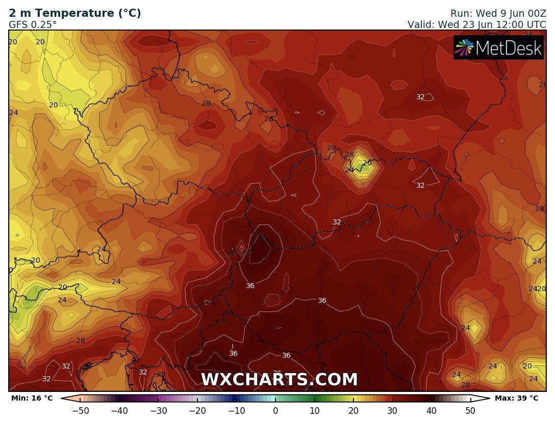 Jövő hét hőhullám 35 fok