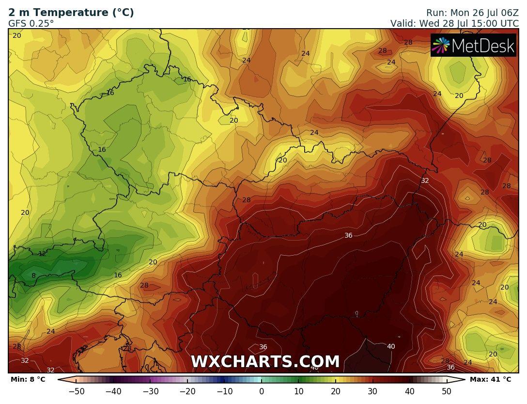Hőségriadó Müller Cecília forróság