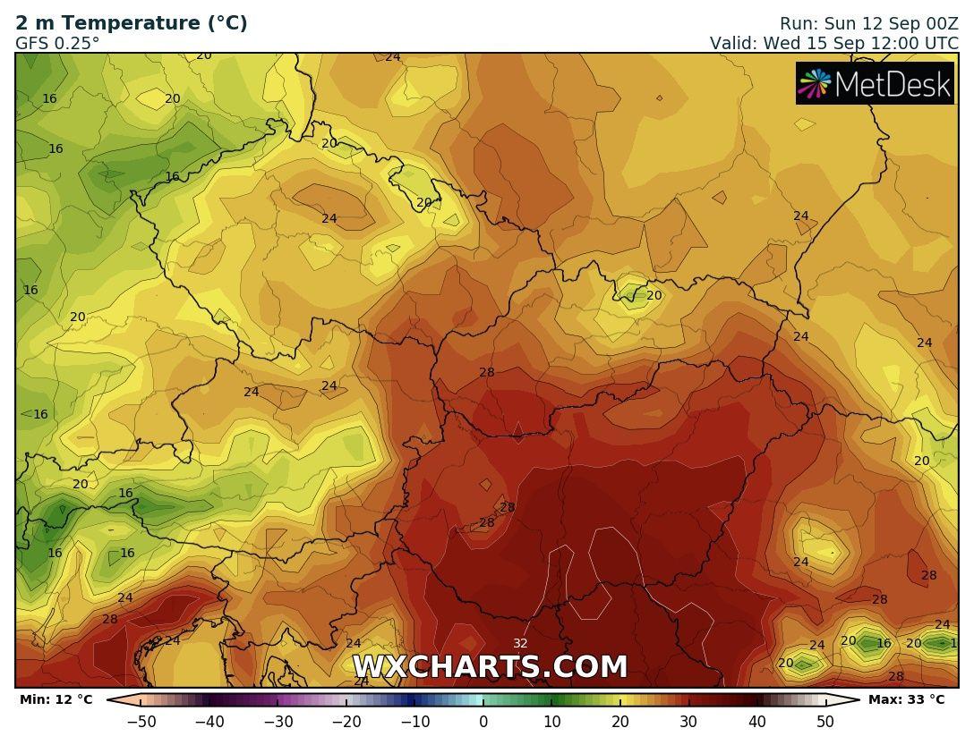 Jövő hét hidegbetörés lehűlés előrejelzés