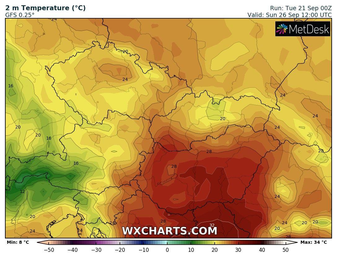 Akár 30-32 fokos hőség is lehet hétvégén!