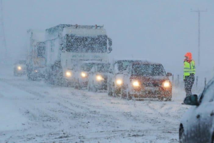 Vasárnap havazás érkezik, akár jelentős mennyiségű hó hullhat! 8
