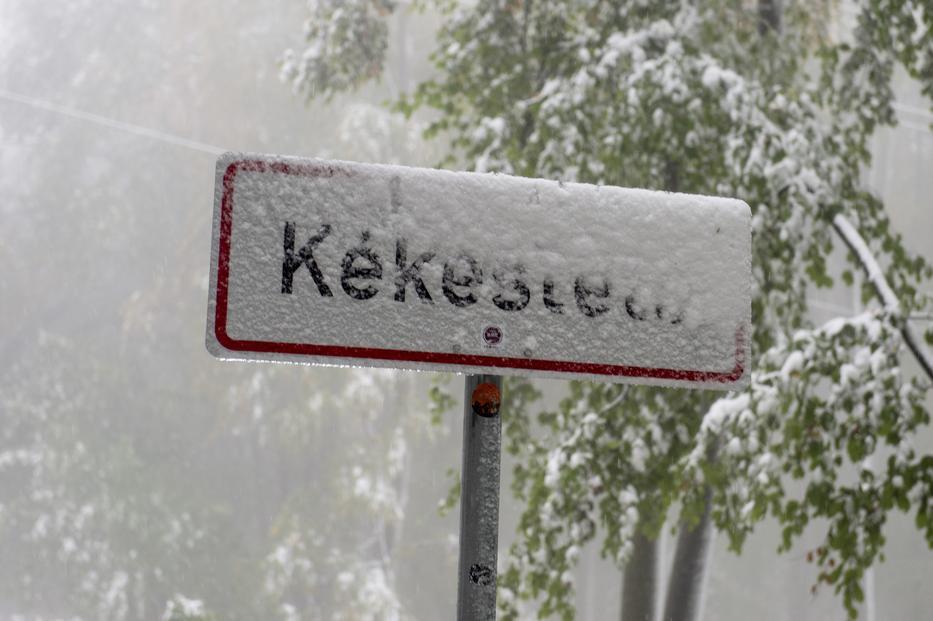 Kékestetőn havazik- videóval! 1
