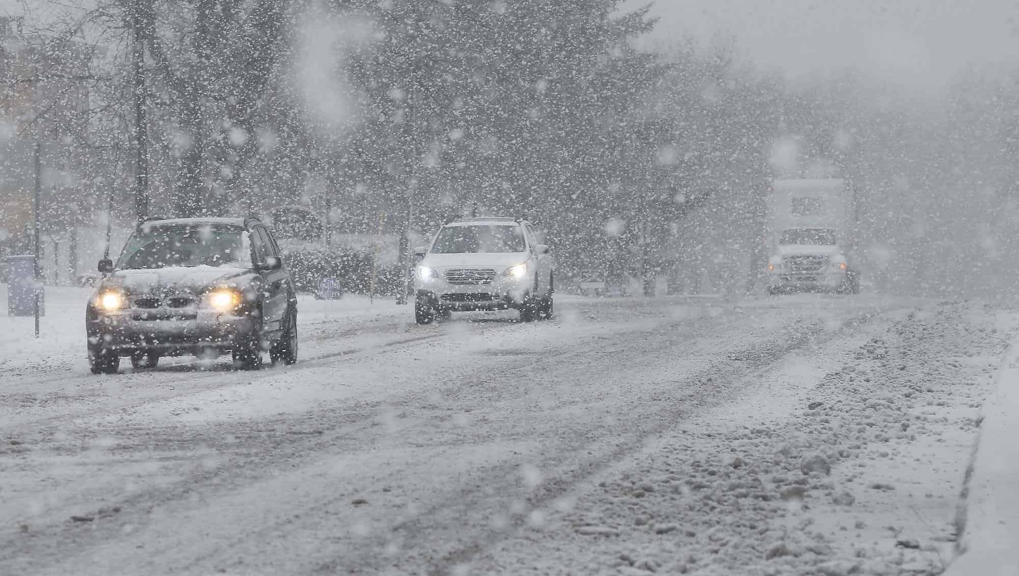 Éjszaka kiterjedt havazás érkezik, lepel-5cm hullhat! 5