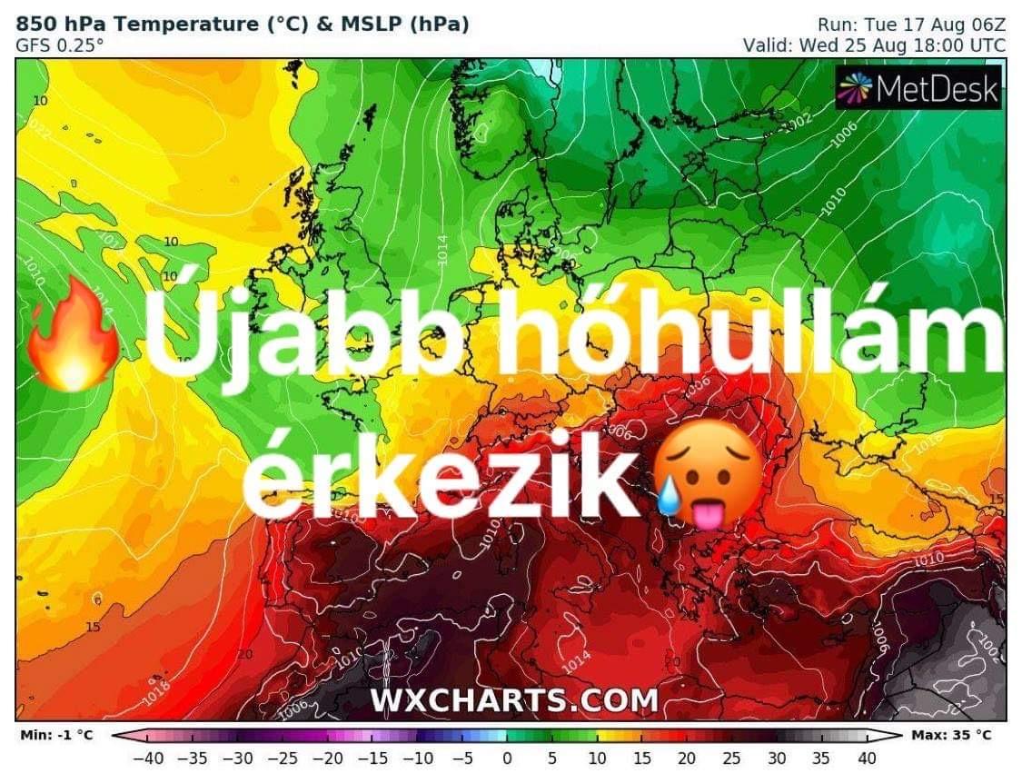 Újabb hőhullám érkezik! 1