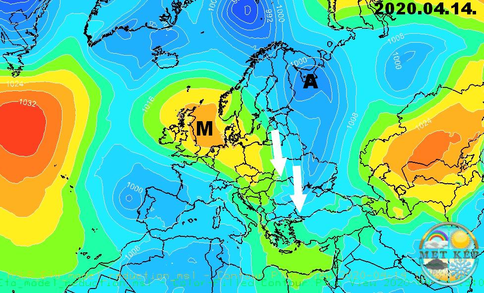 Húsvéthétfőn tetőzik a meleg, 25-26 fok is lehet, majd keddre markáns hidegfront 3