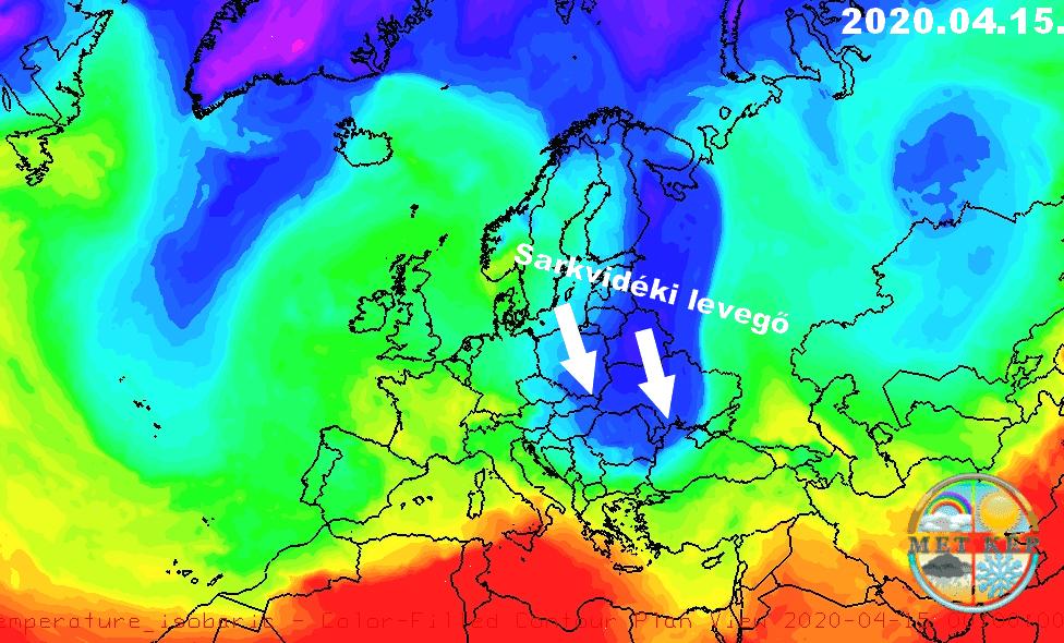 Húsvéthétfőn tetőzik a meleg, 25-26 fok is lehet, majd keddre markáns hidegfront 2