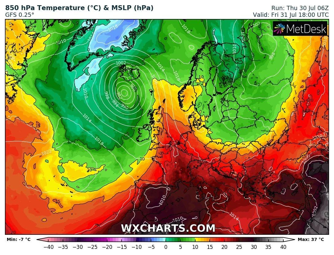 Holnap tetőzik a hőség: 36-37 fok sem kizárt! 5