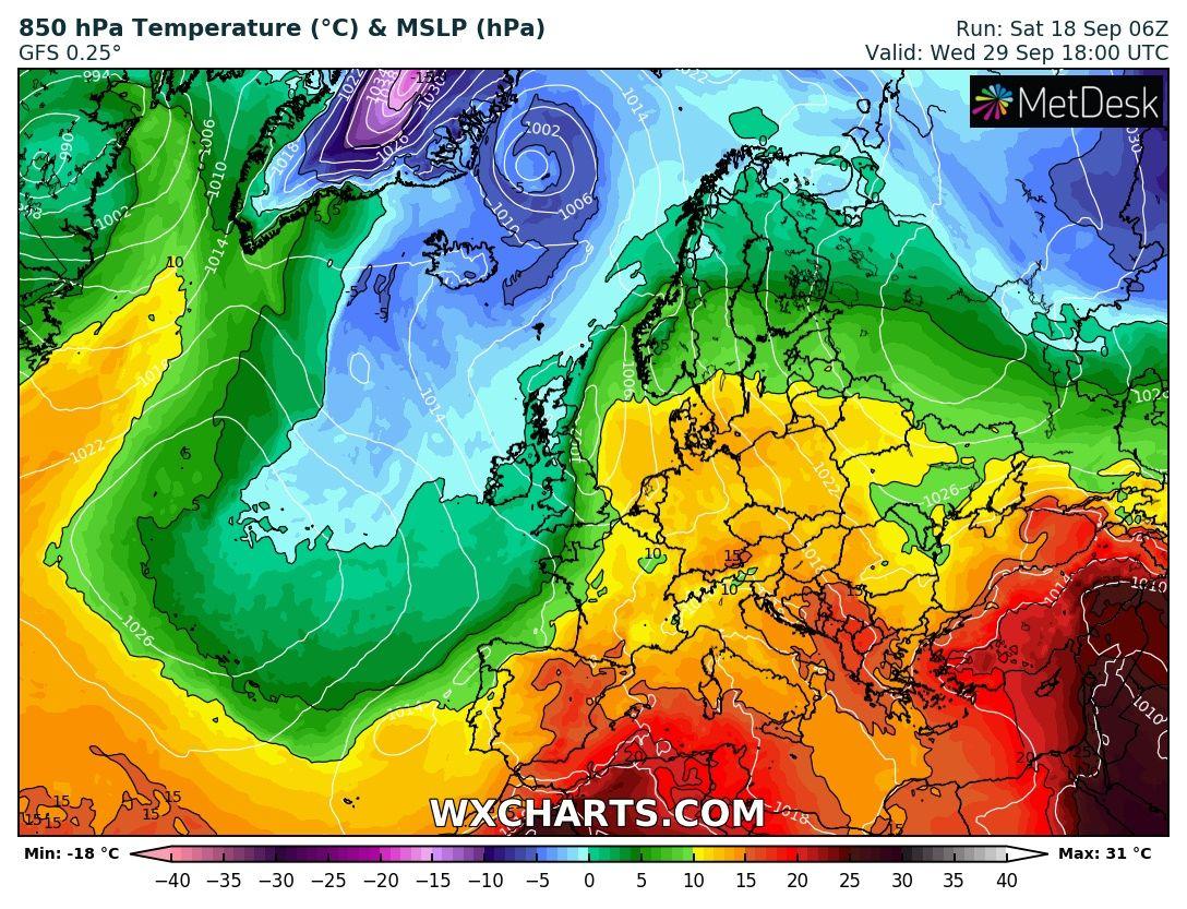 Majd újabb hőhullám érkezik, jelentős melegedést okozva!