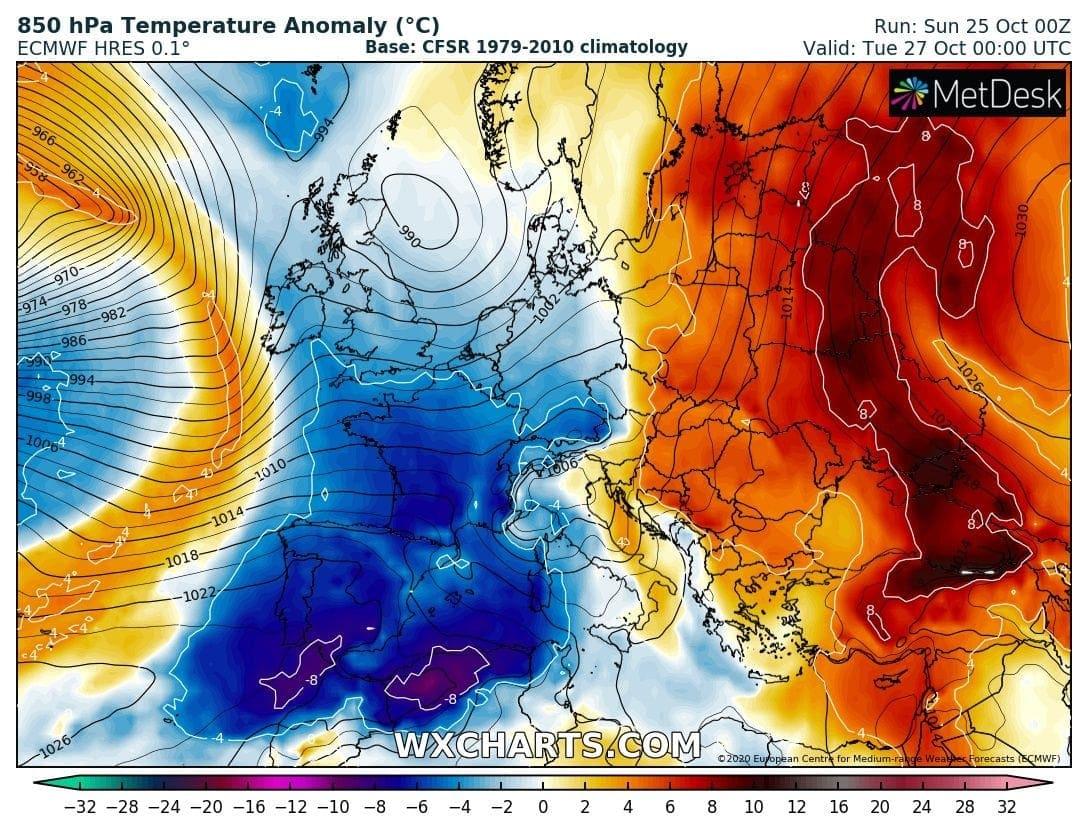 Jelentős felmelegedés várható
