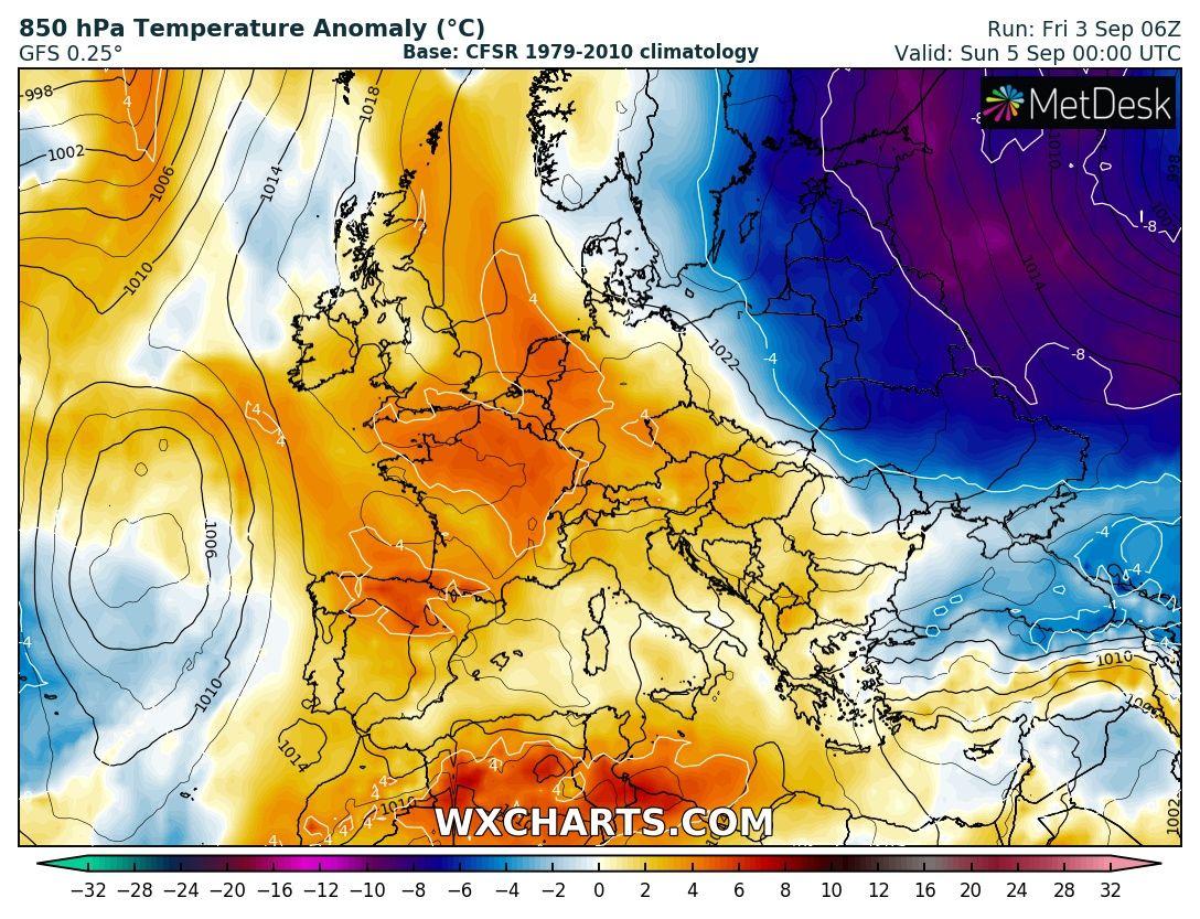 Tél hideg Európa