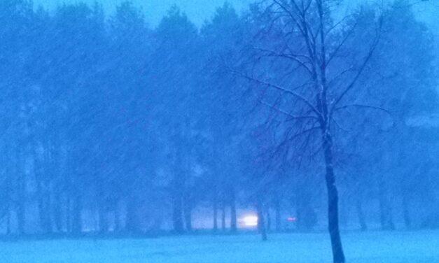 Erősen havazik!