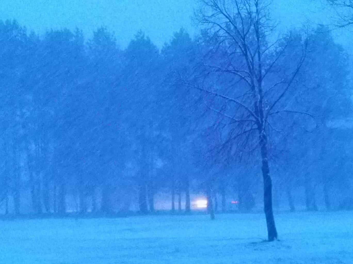 Erősen havazik! 3