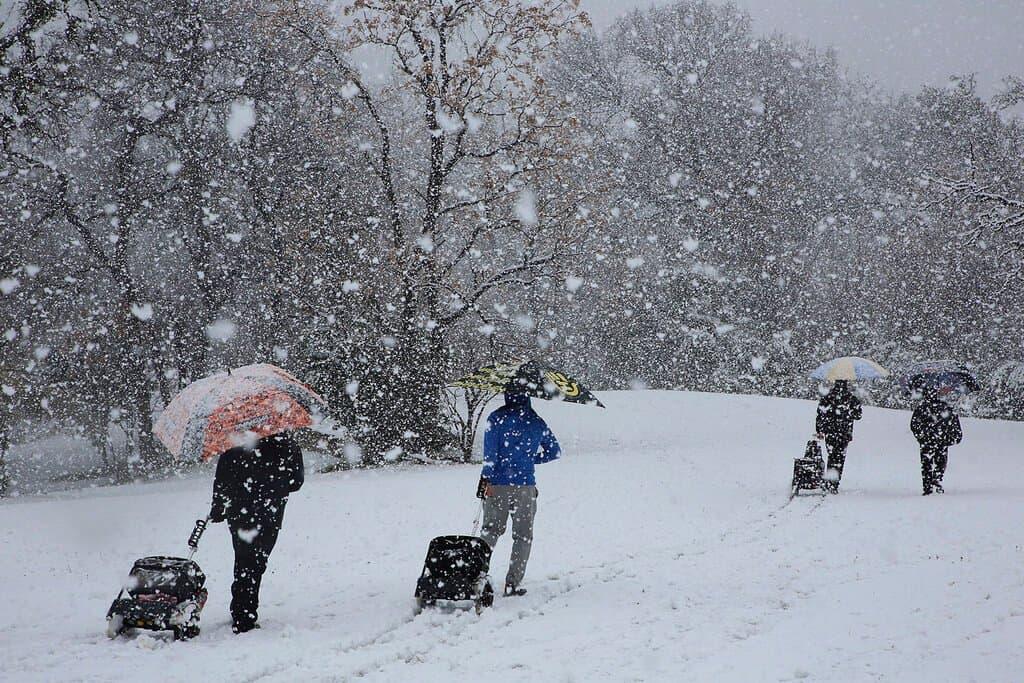 Téliesebb hétvége: fagyok, hó, havas eső, szél! 4