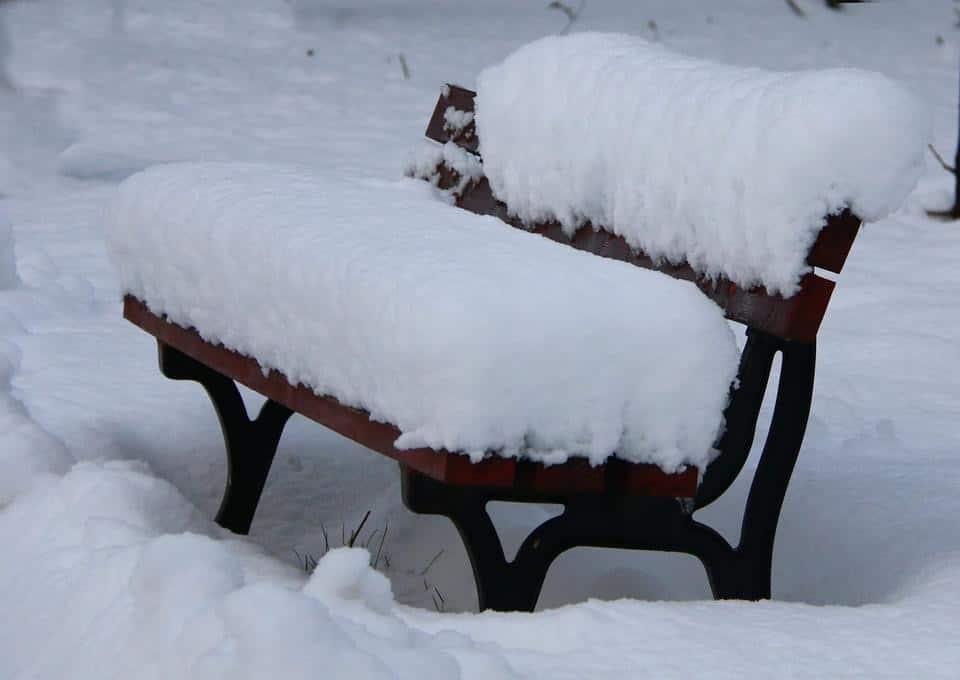 Északkeleten intenzíven havazik! 6