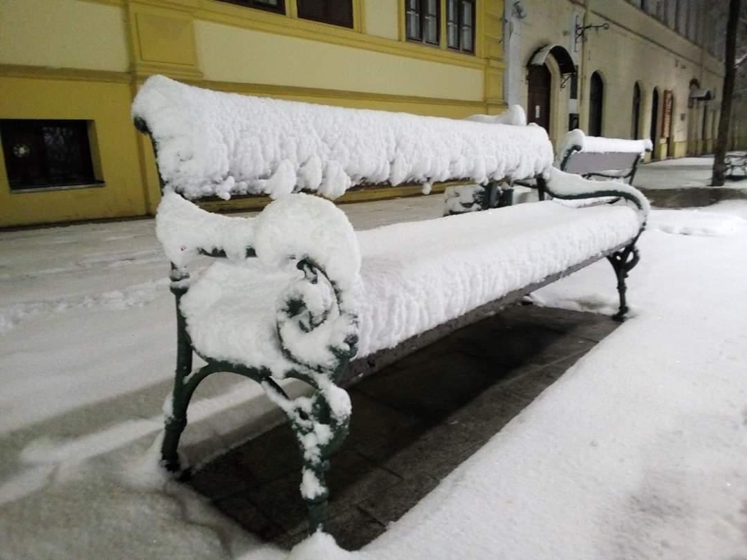 30cm-es hó hullott délnyugaton és messze még a vége!(képek) 7