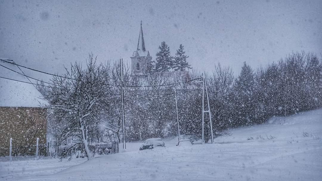 30cm-es hó hullott délnyugaton és messze még a vége!(képek) 4