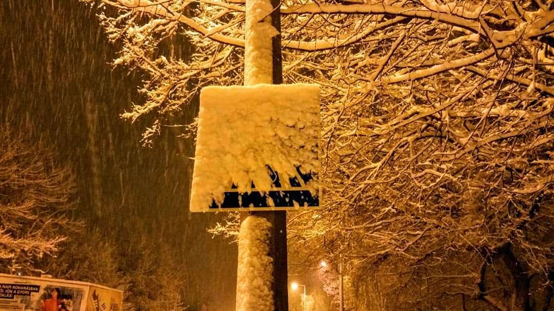 30cm-es hó hullott délnyugaton és messze még a vége!(képek) 2