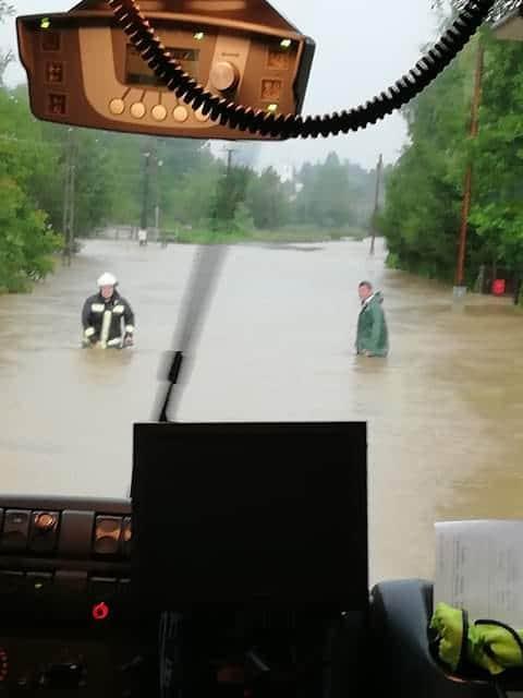 Komoly problémát okoz a rengeteg eső, több délnyugati járás került víz alá! 3
