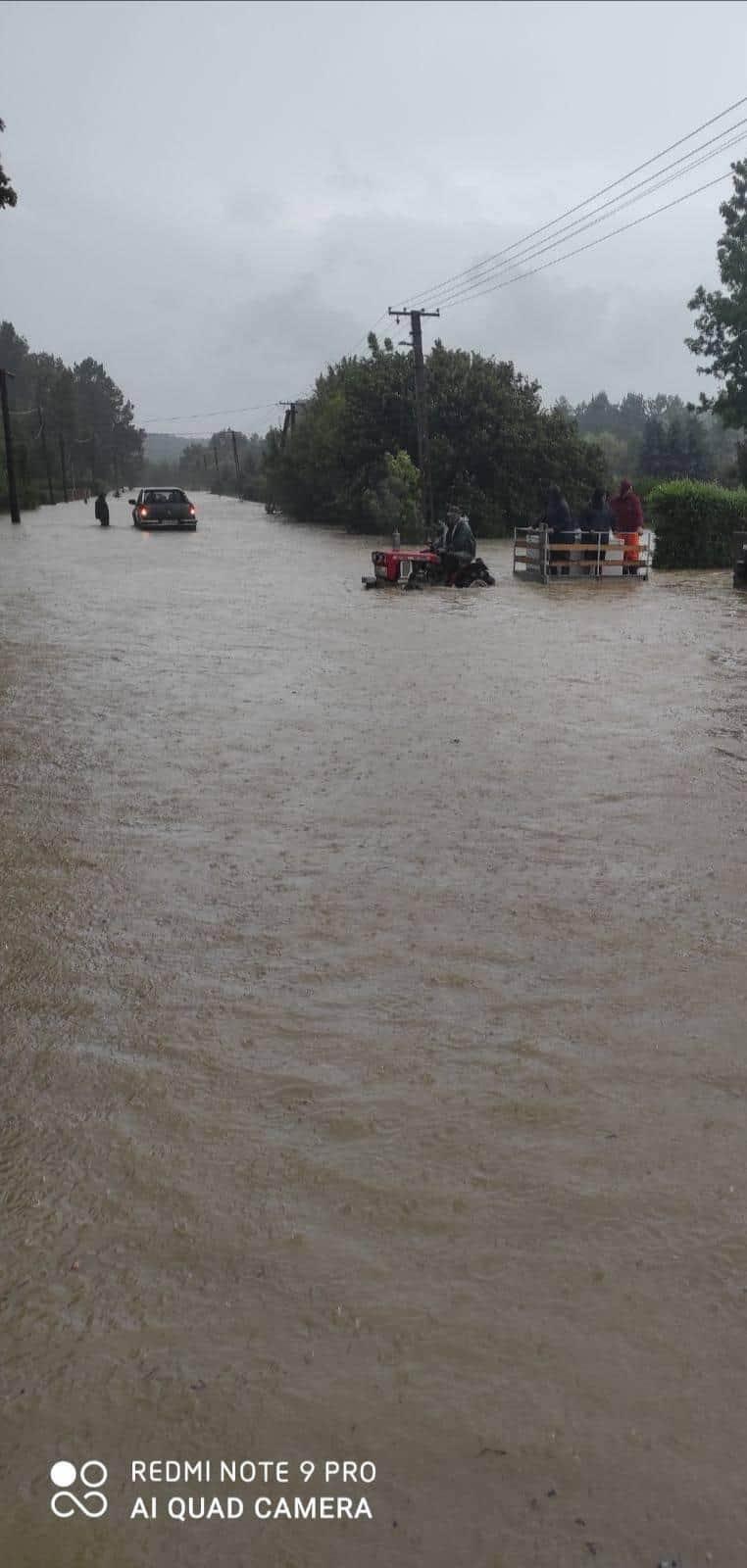 Komoly problémát okoz a rengeteg eső, több délnyugati járás került víz alá! 2