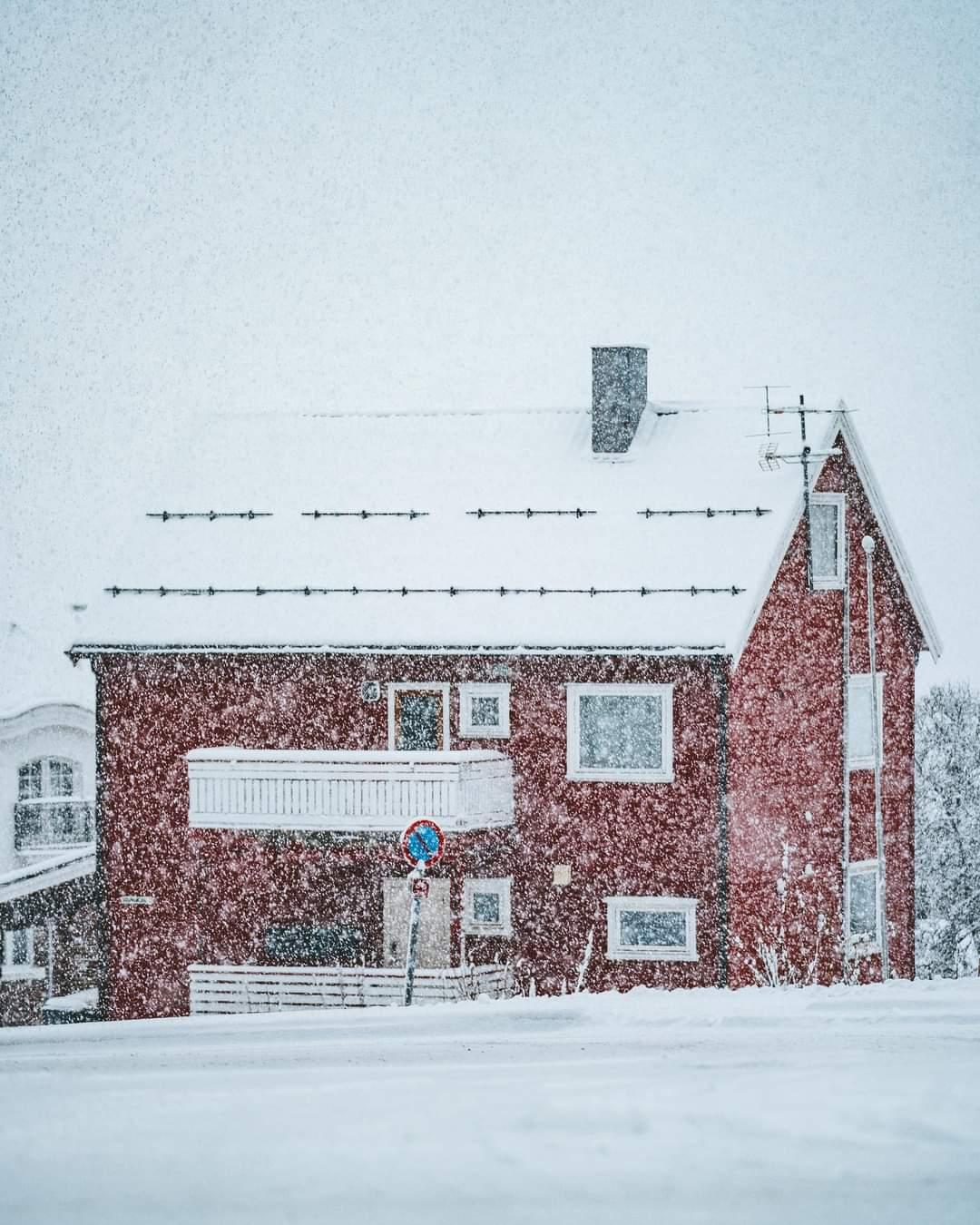 Varázslatos mai havas képek, videó Norvégiából! 1