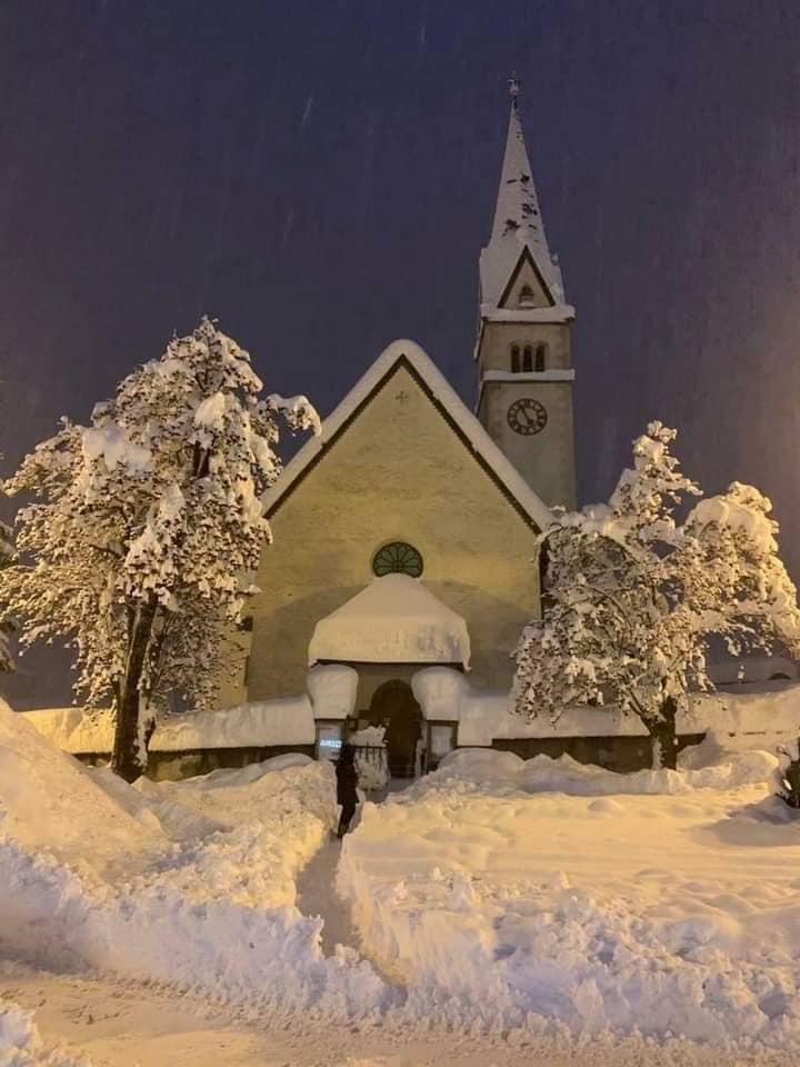 Káosz az Alpokban! Hatalmas mennyiségű hó esett! 3