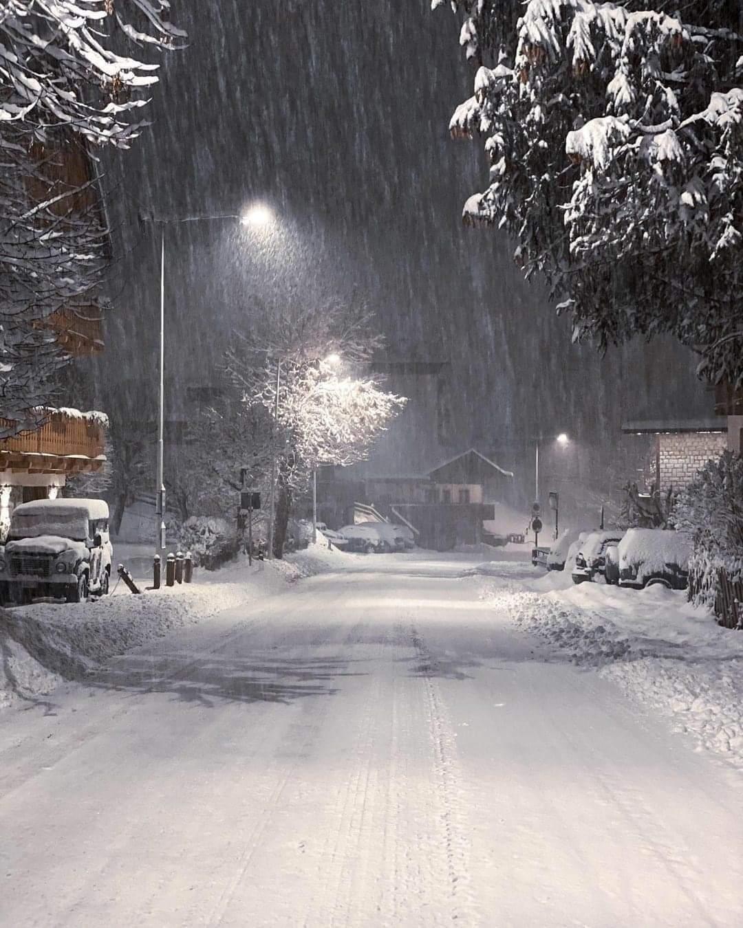 Szakad a hó a Kékestetőn, 5-10cm hullhat reggelig! 10
