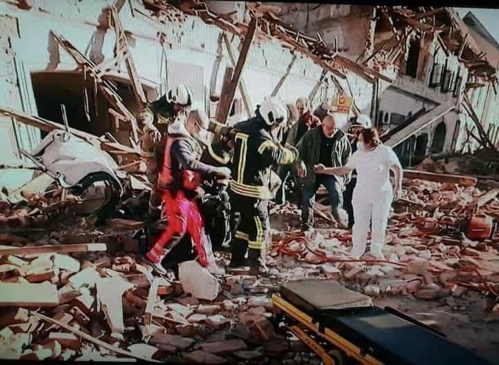 Drámai fotók Horvátországból! Pusztított a földrengés! 9