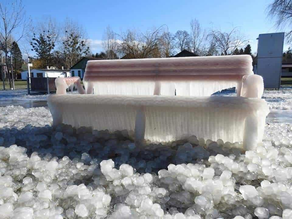 Ilyen ma a jeges Balaton! (képek, videók) 9