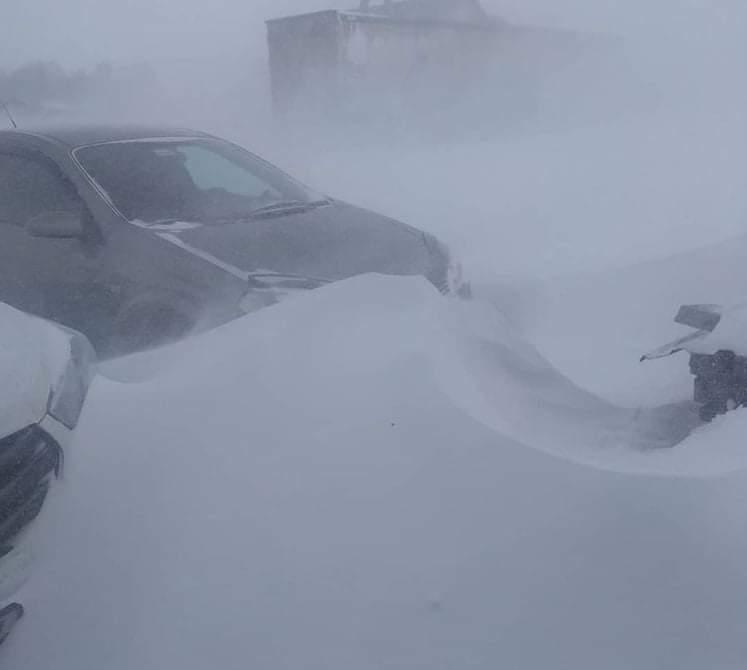 Tömegbaleset: több, mint 400-an ragadtak a hóviharban Oroszországban! 1