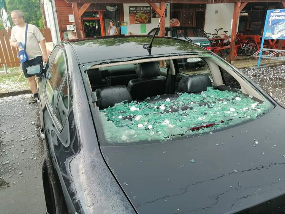 Ítéletidő csapott le Magyarországra, Sellyén 245 házban keletkezett kár! 2