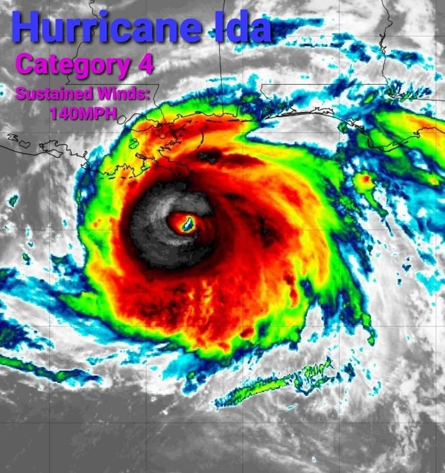 Áldozatokat követelhet a pusztító Ida hurrikán! 1
