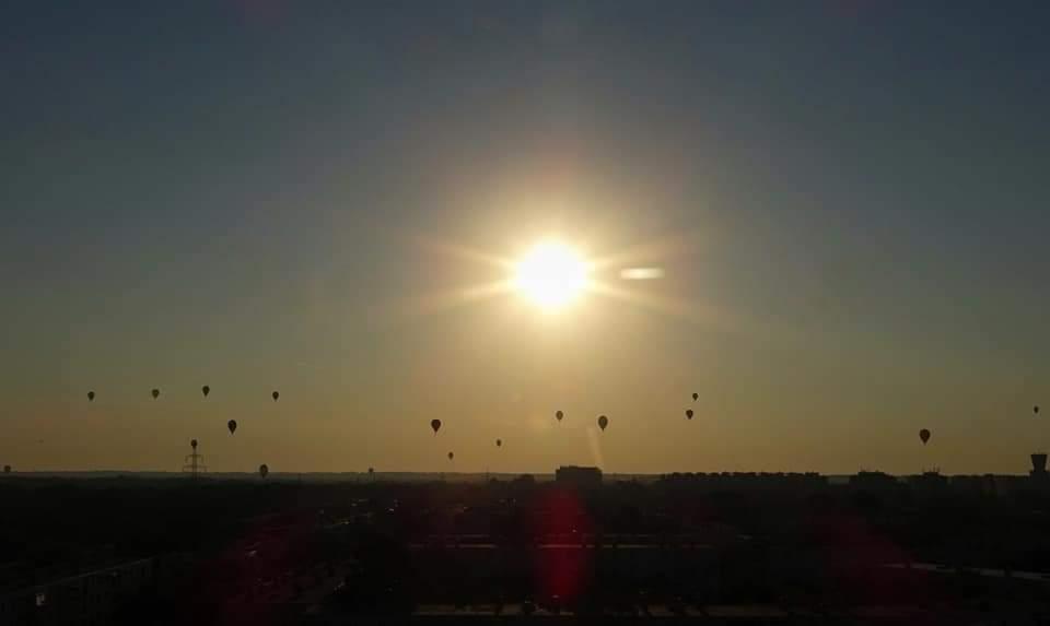 Hőlégballonok lepték el az eget Szegeden 6