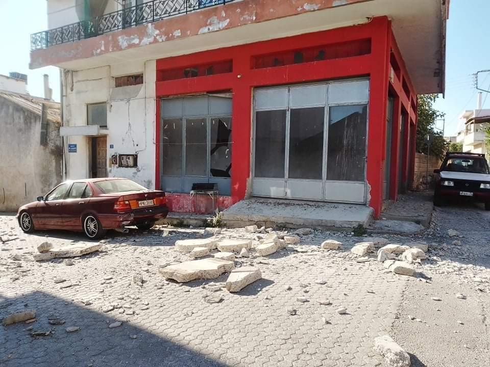 Földrengés Kréta képek