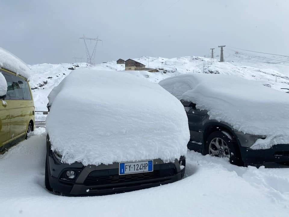 A szomszédos Ausztriában és Olaszországban is ömlik a hó! 2