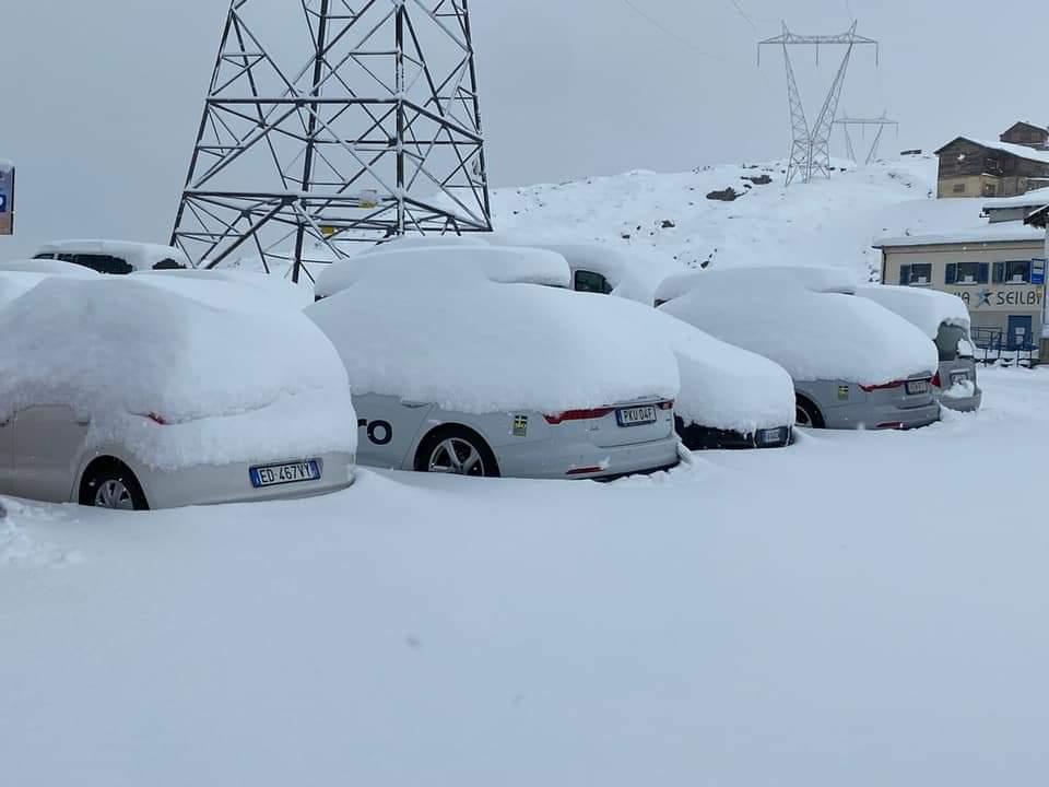 A szomszédos Ausztriában és Olaszországban is ömlik a hó! 1