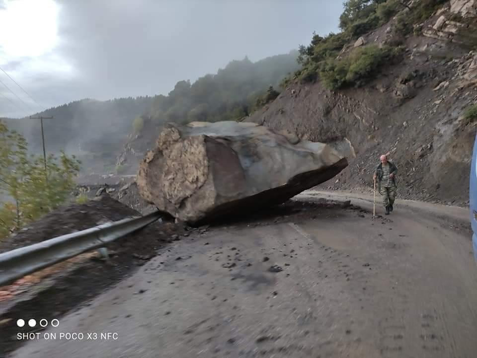 Hatalmas a pusztítás, eltűntek, 723mm eső Görögországban! 3