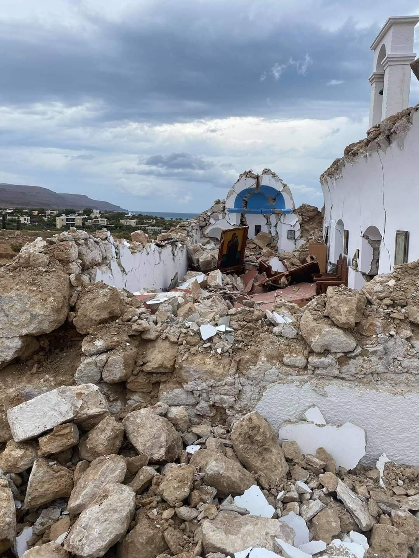 Cunami Kréta földrengés