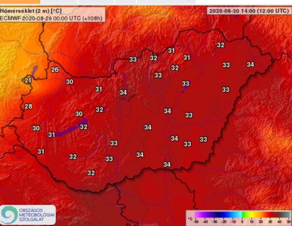 Hétvégén: az év legmelegebb napjai várnak ránk, 36-37 fok sem kizárt! 3