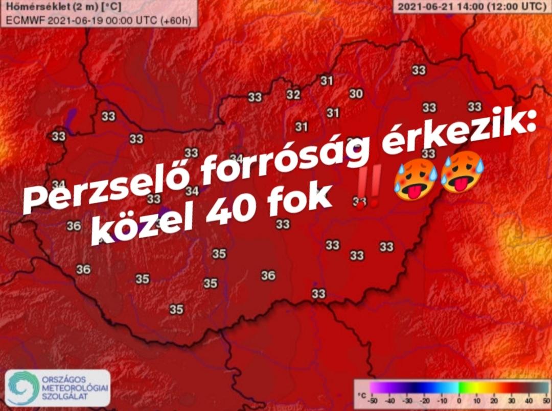 Perzselő hőség érkezik: hétfőtől még melegebb, közel 40 fok sem kizárt! 6